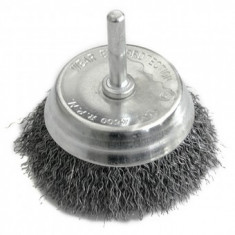 Perie sarma cupa cu tija, 63mm, Strend Pro CCB-509