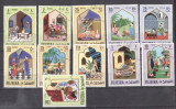 Fujeira 1967 Oriental fairy tales 11 values used DE.156