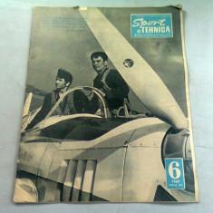REVISTA SPORT SI TEHNICA NR.6/1969