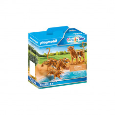 Playmobil Family Fun - Tigri cu pui