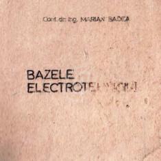 Bazele electrotehnicii vol. 1