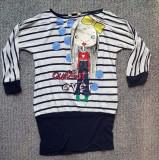Bluza fete H&M, made in Turkey, material vascoza, lungime 60 cm, ca noua
