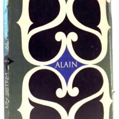 ALAIN UN SISTEM AL ARTELOR FRUMOASE de ALEXANDRU BACIU, 1969