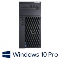Workstation Refurbished Dell Precision T1700, i5-4590, Win 10 Pro