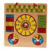 Cumpara ieftin Jucarie educativa calendar, ceas, anotimpuri