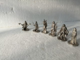 bnk jc Lot 6 figurine metalice Lord of the Rings