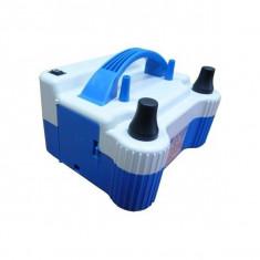 Compresor electric DUBLU Pompa electrica baloane cu 2 iesiri 700W
