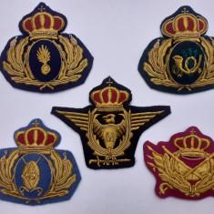 Embleme regaliste de cascheta WW2