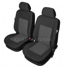 Set huse scaun model Perun pentru Citroen ZX, culoare Negru, set huse auto Fata