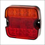 Lampa stop auto Patrata LED 4 functii Stop,Pozitie, Semnaliz