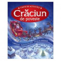 Cumpara ieftin Crăciun de poveste. Carte de activități