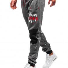 Pantaloni de trening bărbați grafit Bolf 55066