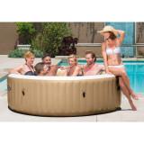 SPA SI HIDROMASAJ INTEX Bubble Massage Pure Spa 6 Persoane Cod 28428