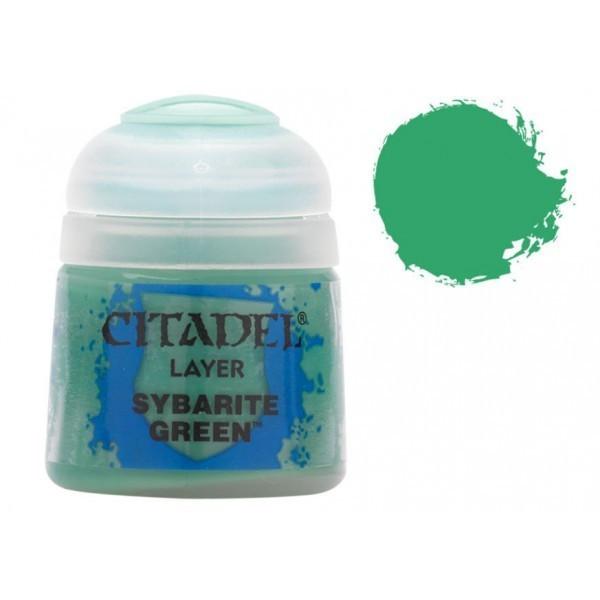 Vopsea pentru Miniaturi, Citadel, Layer Sybarite Green