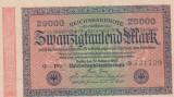 20000  MARCI GERMANIA 20 FEBRUARIE 1923/UNC