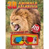 3D Abtibilduri - Animale salbatice PlayLearn Toys
