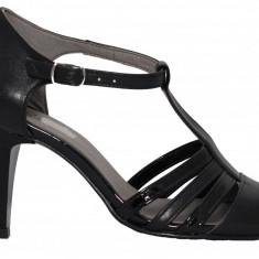 Pantofi dama cu bareta Ninna Art A11 negru