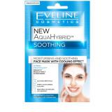 Cumpara ieftin Masca de fata, Eveline Cosmetics, New Aqua Hybrid, Hidratare si Catifelare cu efect racoritor 3in1, 10 ml