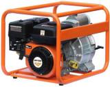 Motopompa Ruris MP100, benzina, 4 timpi, 212 cc, 7 CP (Portocaliu/Negru)