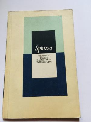 Tratatul Despre Indreptarea Intelectului - Baruch Spinoza foto