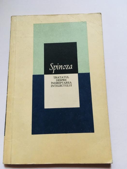 Tratatul Despre Indreptarea Intelectului - Baruch Spinoza