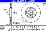 Disc frana AUDI TT Roadster (8N9) (1999 - 2006) ATE 24.0132-0165.2