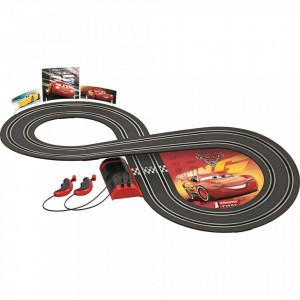 Circuit electric masinute Fulger McQueen si Cruz Ramirez Cars 3 Carrera First 2,4 m