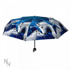 Umbrela pliabila unicorni Iubire Sacra - Lisa Parker