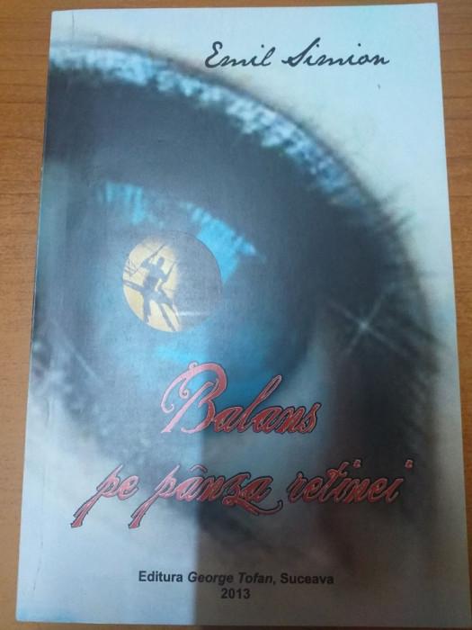 AMS - SIMION EMIL - BALANS PE PANZA RETINEI (CU AUTOGRAF)