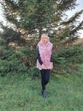 Cumpara ieftin Vesta blana sintetica Roz