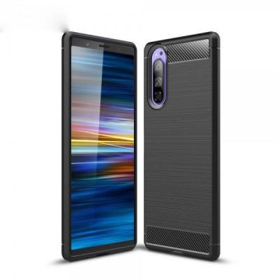 Husa Sony Xperia 5 TPU Neagra foto
