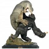 Statueta uriasa 60 cm inaltime: T-Rex vs King Kong Weta, foarte rara