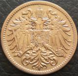 Moneda istorica 10 HELLER - AUSTRIA / Austro-Ungaria, anul 1907 *cod 1658, Europa