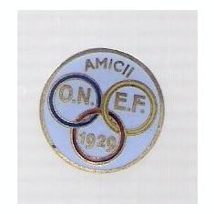 Insigna Amicii ONEF 1929 pentru butoniera, rara