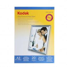 Hartie foto Ultra Premium 270G Kodak A3 Glossy 20 coli, RC