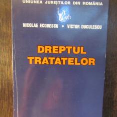 DREPTUL TRATATELOR-NICOLAE ECOBESCU, VICTOR DUCULESCU