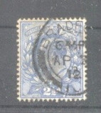 Great Britain 1902 King Edward VII, Mi.107B, perf. 15:14, used AM.075