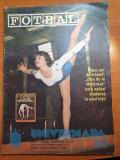 Revista fotbal iunie 1981-nadia comaneci,u.craiova,u.cluj,poli timisoara,dobrin