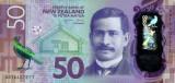 NOUA ZEELANDA █ bancnota █ 50 Dollars █ 2016 █ P-194 █ POLYMER █ UNC