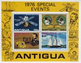 ANTIGUA-Evenimentele anului 1976 - 1M/Sh.NEOB. - CW 296, Arta, America Centrala si de Sud