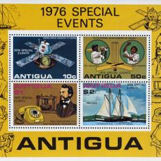 ANTIGUA-Evenimentele anului 1976 - 1M/Sh.NEOB. - CW 296