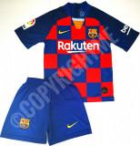 Compleu Echipament fotbal pentru copii FC BARCELONA Messi model 2020
