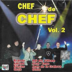 CD Chef De Chef Vol. 2, original, manele