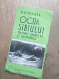 Cumpara ieftin PLIANT INTERBELIC, RECLAMA- OCNA SIBIULUI, cca 1935