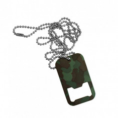 PLACUTE IDENTIFICARE US SOLDIERS (DOG TAG) WOODLAND