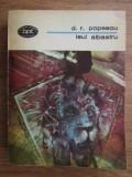 BPT 1097 Leul albastru  / Dumitru Radu Popescu