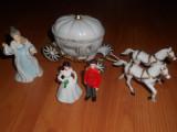 Set ilustrand Basmul Cenusareasa. Figurine plastic pentru copii.