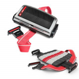 Inaltator scaun auto Mifold Sport Luxury Grab and Go Booster, Rosu/Negru