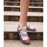 Cumpara ieftin Sporty Sandals 38 Argintiu