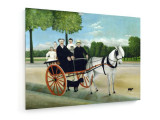 Tablou pe panza (canvas) - Henri Rousseau - Cart of Father Juniet - 1908